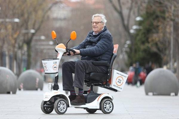 Looper movilidad compartida Madrid