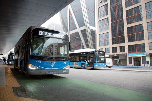Madrid autobús eléctrico