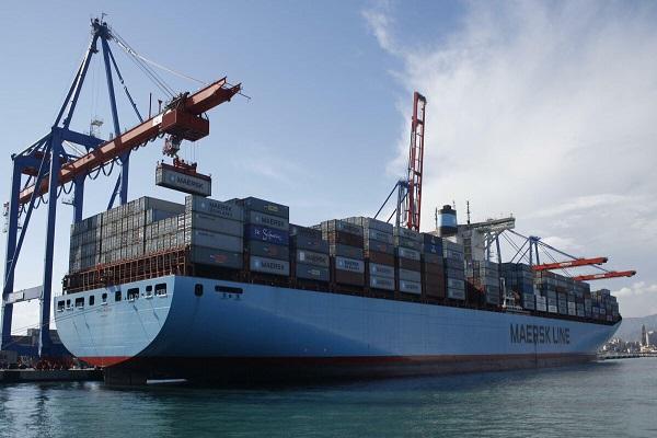 Maersk disminuye sus escalas en el Puerto de Málaga