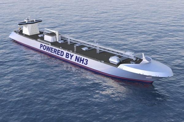 NYK investiga el uso del amoníaco como combustible marino