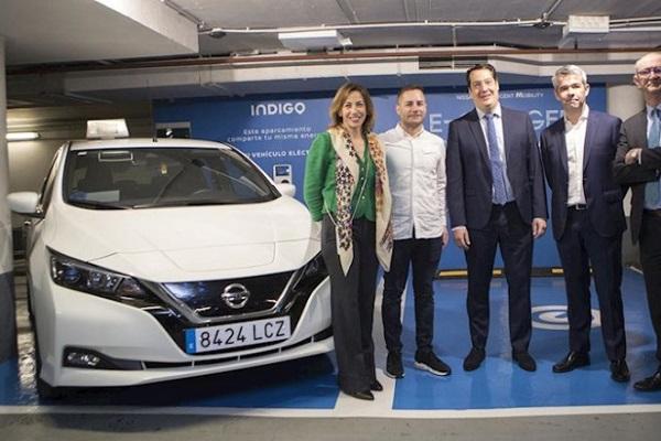 Nissan 7.000 vehículos eléctricos