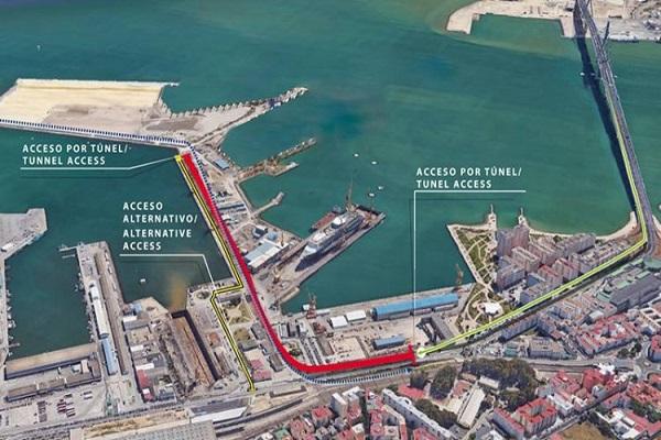Puerto de Cádiz escoge a Acciona para ejecutar accesos a terminal de contenedores
