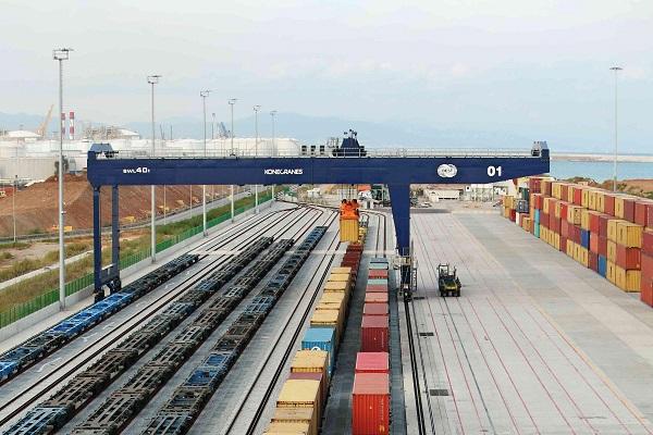 Se afianza conexión ferroviaria entre Miranda del Ebro y Puerto de Barcelona
