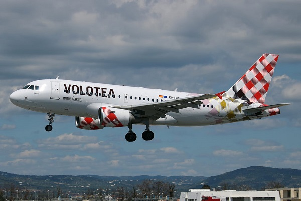 Volotea pasajeros 2019