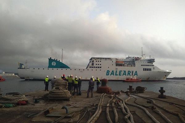 Balearia dispondrá de seis buques propulsados por Gas Natural Licuado en junio