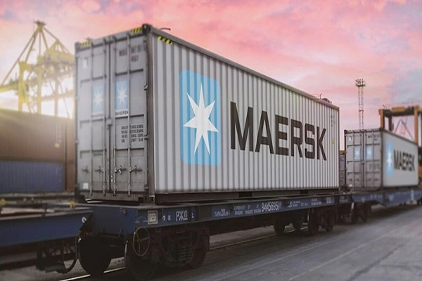 Maersk establece nuevo servicio ferroviario hacia Asia