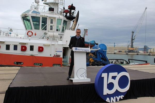 Puerto de Tarragona conmemora su 150 aniversario