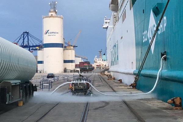 Puerto de Valencia aprueba el suministro de Gas Natural Licuado a ESK