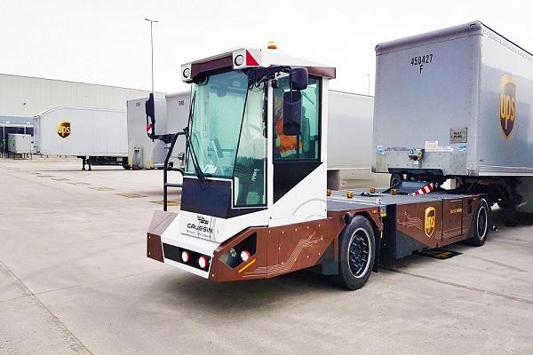 UPS realiza sus primeras pruebas con tractoras autónomas de intermcabio