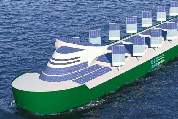 buques energia solar viento