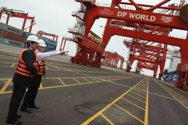 dp world el callao