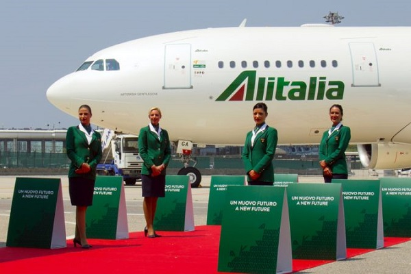 Alitalia operaciones junio 2021