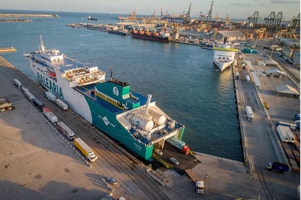 Baleària opera más de 1.000 salidas en el primer mes de estado de alarma