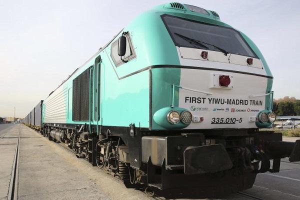 Conexión ferroviaria entre Yiwu y Madrid se presenta como alternativa para traslado de mercancías