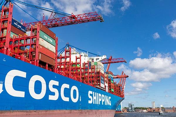 Cosco lanza nuevo servicio entre Mediterráneo y Estados Unidos