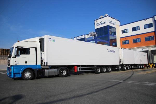 Disfrimur mayor camión frigorífico de España