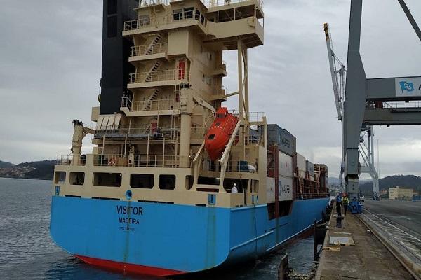 Puerto de Marín gestiona la operativa de seis buques en un día