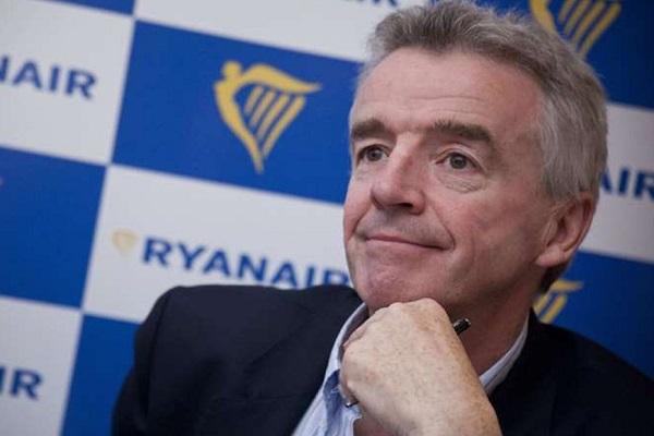 Ryanair asientos vacios