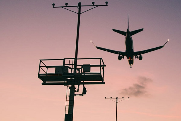 Tráfico aéreo España coronavirus
