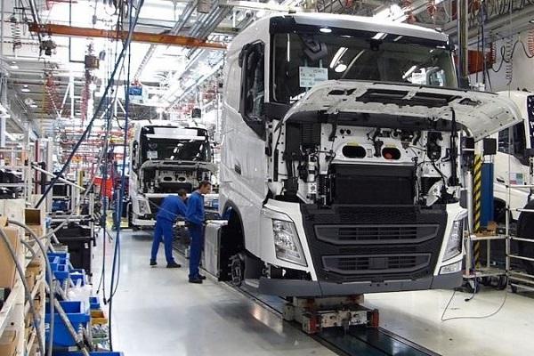 Volvo Trucks Suecia Bélgica
