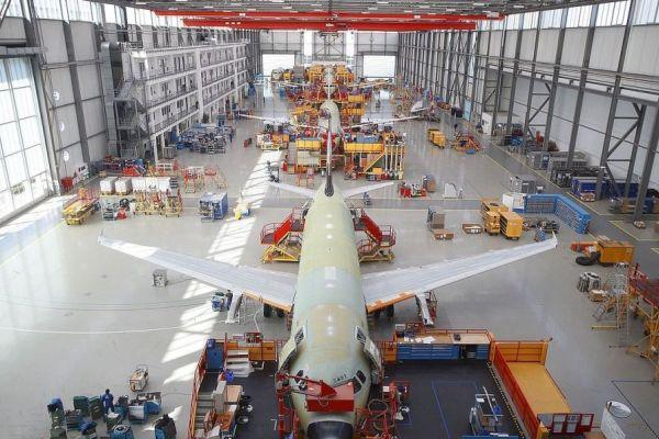 airbus produccion