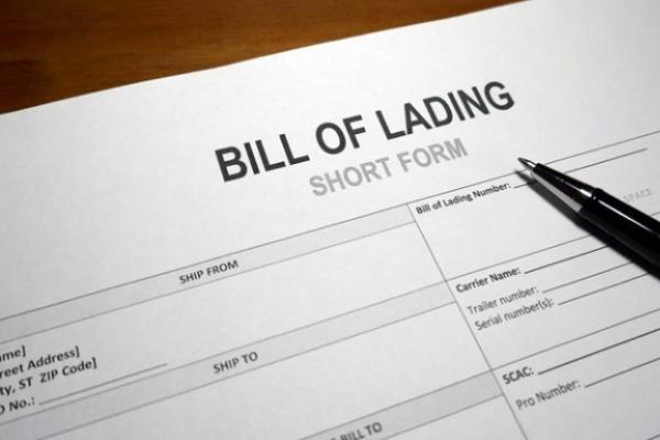 bill of landing