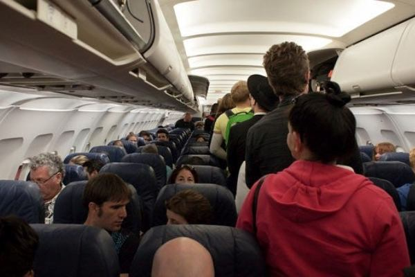 pasajeros aviones