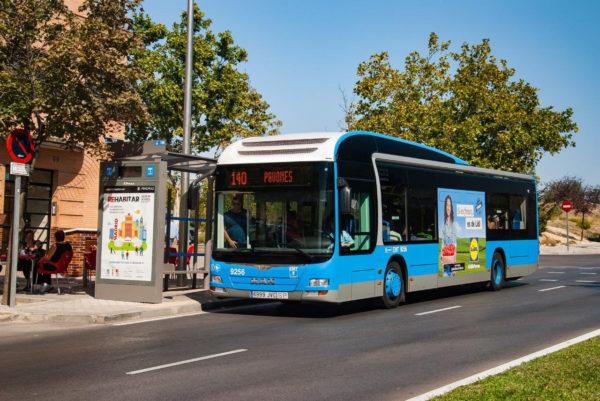 transporte publico madrid