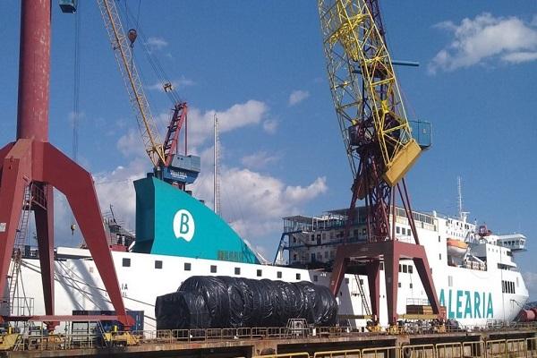Baleària dispondrá de un sexto buque a gas natural en julio