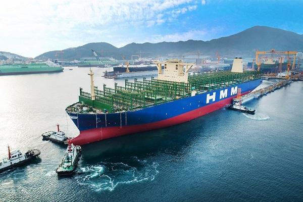 El buque HMM Algeciras sobrepasa el récord mundial de carga