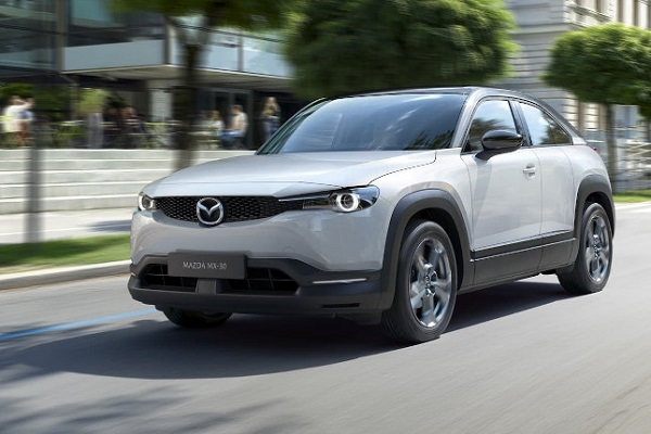 Iberdrola Mazda movilidad eléctrica