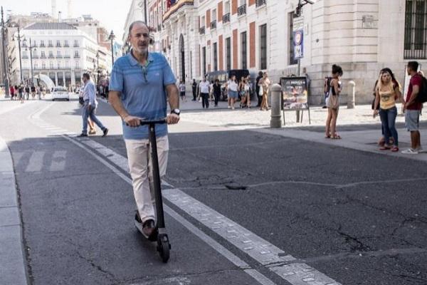 Madrid patinetes eléctricos desescalada