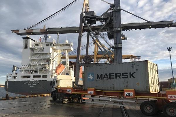 Maersk realiza cambios en su servicio de importación del Puerto de Algeciras