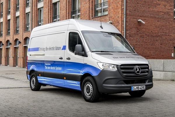 Mercedes-Benz eSprinter 2020 España