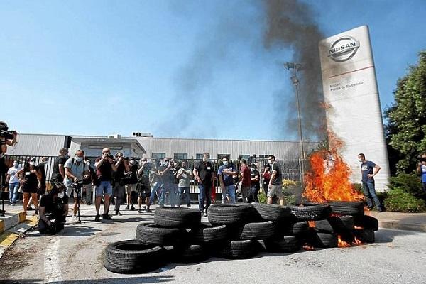 Nissan Barcelona cierre fábricas