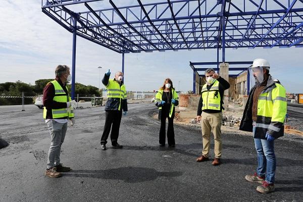 Puerto de Huelva acabará con la reordenación del Muelle Sur este verano