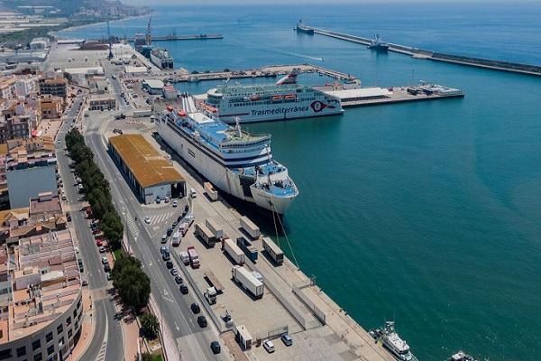 Puerto de Motril continúa con los trabajos para optimizar los accesos