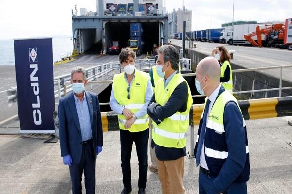 Puerto de Santander retoma la conexión con Irlanda gracias a la naviera CLdN