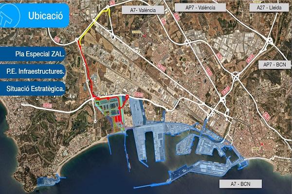 Puerto de Tarragona modificará los proyectos de acceso a ZAL