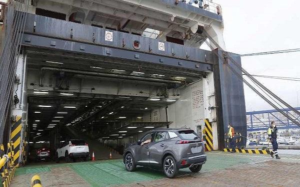 Puerto de Vigo reanuda la actividad de la autopista del mar