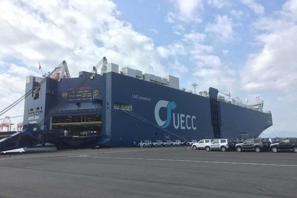 Puerto de Vigo recibe al buque portacoches más grande del mundo