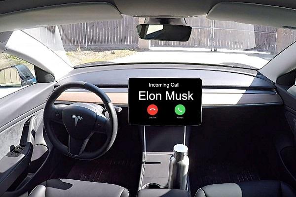 Tesla videollamadas