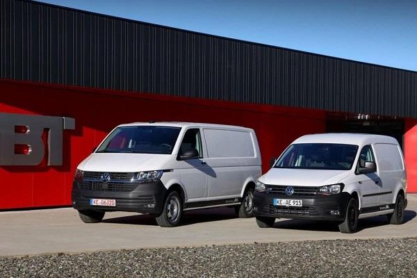 Volkswagen e-Caddy y e-Transporter España