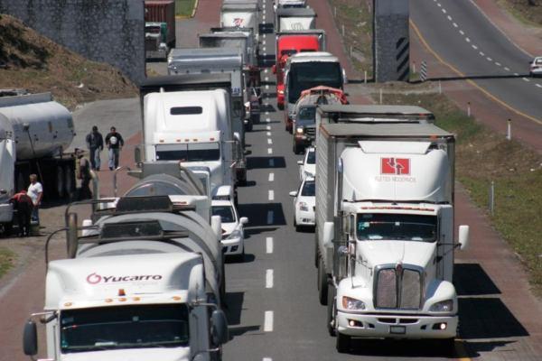 camiones mexico caida