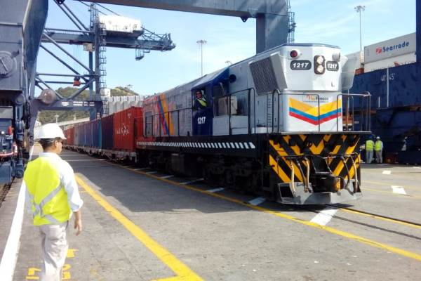 puerto de Santa Marta ferrocarril
