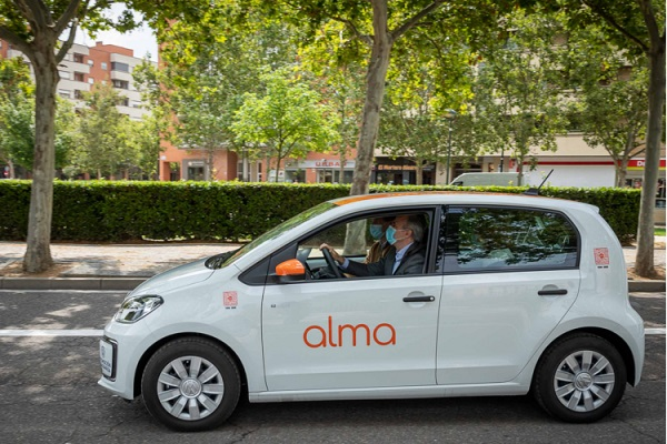 Alma Mobility Zaragoza carsharing