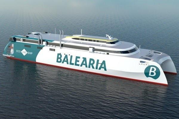 Baleària continuará invirtiendo en GNL mirando hacia el hidrógeno y el biogás