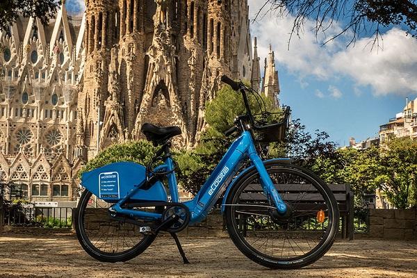 Cooltra bicis eléctricas compartidas Barcelona