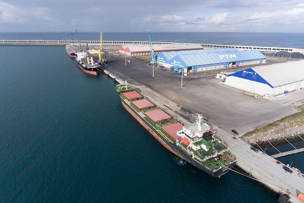El puerto La Coruña fortalece el tráfico de mercancías desde su puesta en marcha