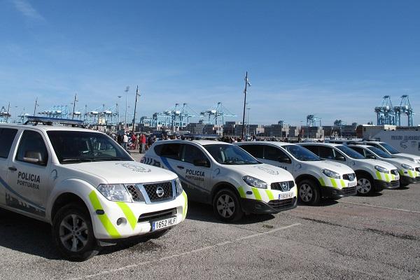 El puerto de Algeciras cambia parte de su parque móvil por vehículos eléctricos